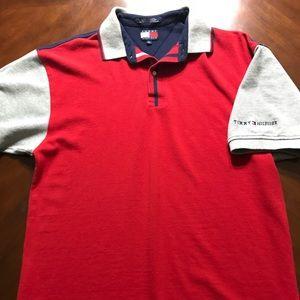 Vintage 90s Tommy Hilfiger Polo Shirt Size L